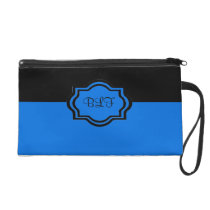 CHIC WRISTLET ROYAL BLUEI/MONOGRAM