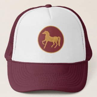 Chic Year of the Horse, Maroon Trucker Hat