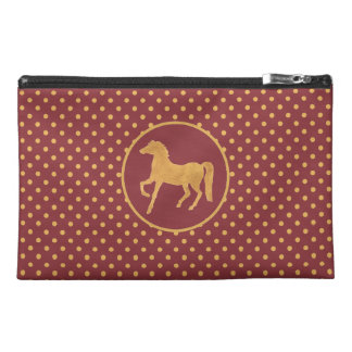 Chic Year of the Horse Polka Dot Accessories Bag