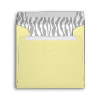 Chic Zebra Envelope Square YWGY-2