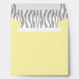Chic Zebra Envelope Square YWGY-2