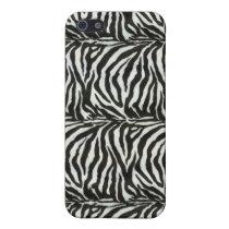 chic zebra Pern 4 casing iPhone SE/5/5s Cover