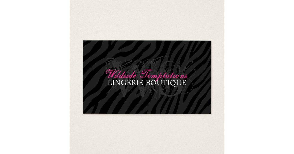 Animal Print Business Card Template – Best Business 2017