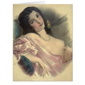 Chica 1850 del Harem Felicitacion