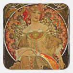 Chica 1897 de Champán Colcomanias Cuadradass