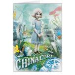 Chica 1 de China Felicitaciones