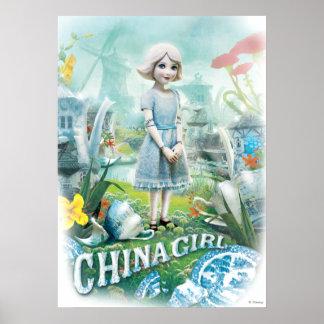 Chica 1 de China Póster