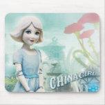 Chica 1 de China Tapetes De Raton