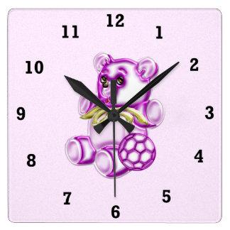 Chica #1 reloj cuadrado