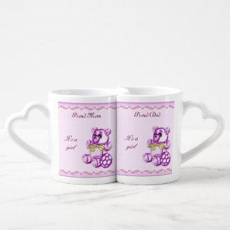 Chica #1 set de tazas de café