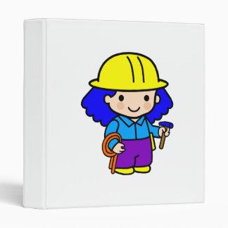 Chica 2 de la construcción