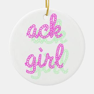 Chica 2 del Ack Adorno