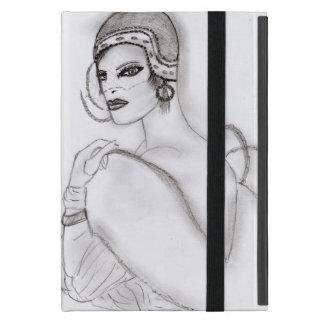 Chica 2 del art déco iPad mini cárcasa