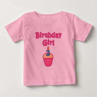Chica 2 del cumpleaños de la magdalena playera