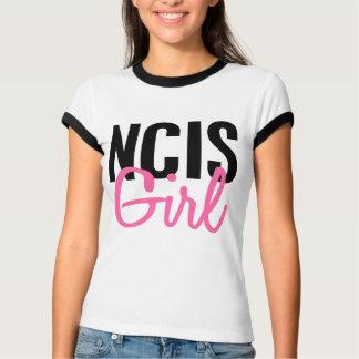 Chica 4 de NCIS Playeras