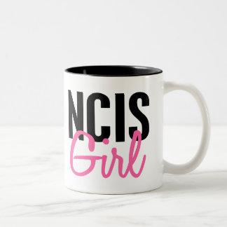 Chica 4 de NCIS Taza De Dos Tonos