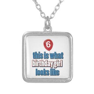Chica 6 del cumpleaños joyerias personalizadas