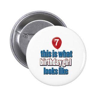Chica 7 del cumpleaños