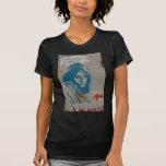 Chica afgano camisetas