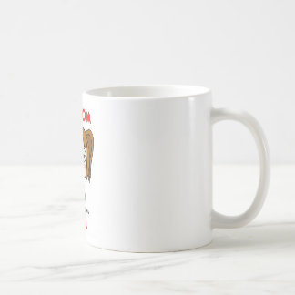 Chica al azar taza de café