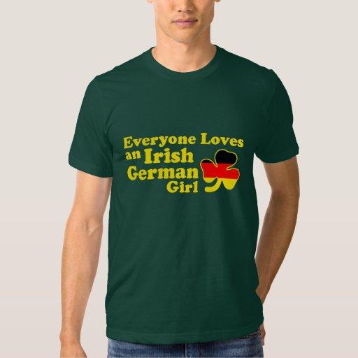 Chica alemán irlandés polera