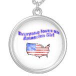 chica americano joyería