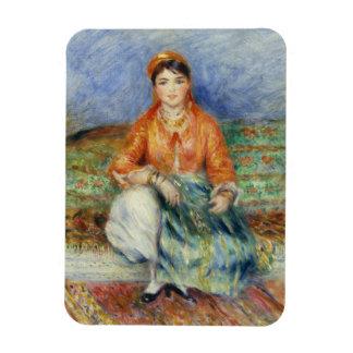 Chica argelino de Pierre-Auguste Renoir Imán