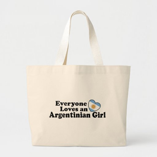 Chica argentino bolsa