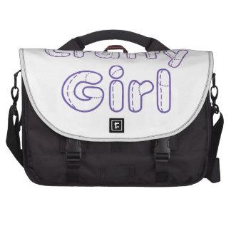 Chica astuto bolsa para ordenador