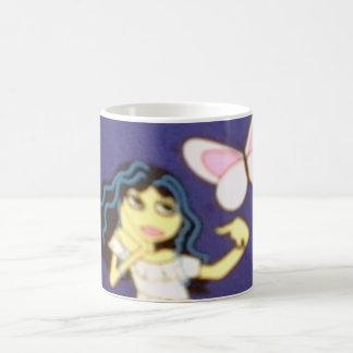 Chica bohemio taza de café