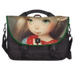 chica bonito hermoso del duende del kawaii del bjd bolsas de ordenador