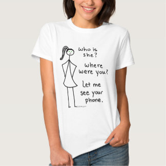 Chica celoso camisas