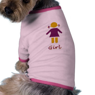 Chica - chica estupendo camisas de mascota