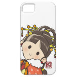 Chica chino iPhone 5 protectores