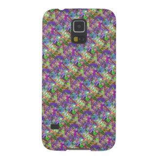 Chica colorido de Camo de la diversión del color Carcasa De Galaxy S5