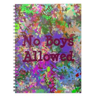 Chica colorido de Camo de la diversión del color d Notebook