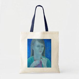 Chica con el chocolate 2011 bolsa tela barata