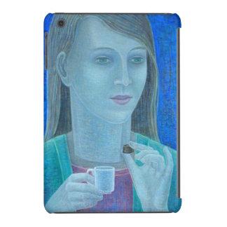 Chica con el chocolate 2011 funda de iPad mini