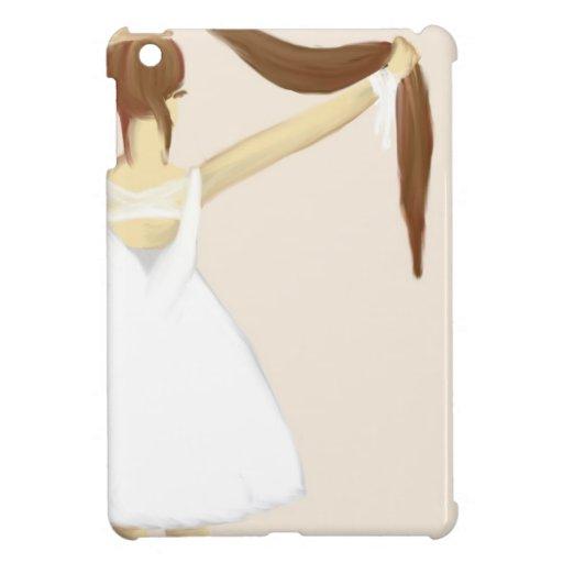 Chica con el pelo iPad mini carcasa
