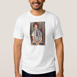 Chica con la blusa de Amedeo Modigliani Remeras