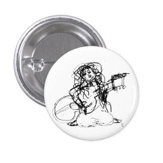 Chica con la guitarra pin