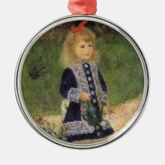 Chica con la regadera Renoir arte del Ornatos