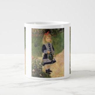 Chica con la regadera, Renoir, arte del Taza Grande