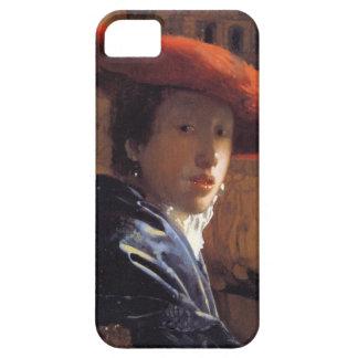 Chica con Red Hat, c.1665 (aceite en el panel) iPhone 5 Carcasa