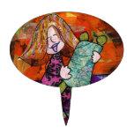 Chica con Torah Figura Para Tarta