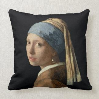 Chica con un pendiente de la perla, c.1665-6 (acei cojines