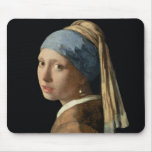 Chica con un pendiente de la perla, c.1665-6 (acei mouse pad