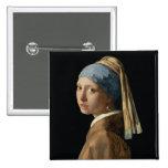 Chica con un pendiente de la perla, c.1665-6 (acei pin cuadrado