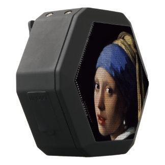 Chica con un pendiente de la perla de Juan Vermeer Altavoces Bluetooth Negros Boombot REX