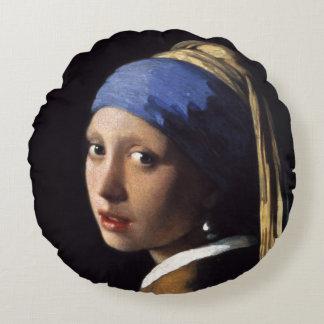 Chica con un pendiente de la perla de Juan Vermeer